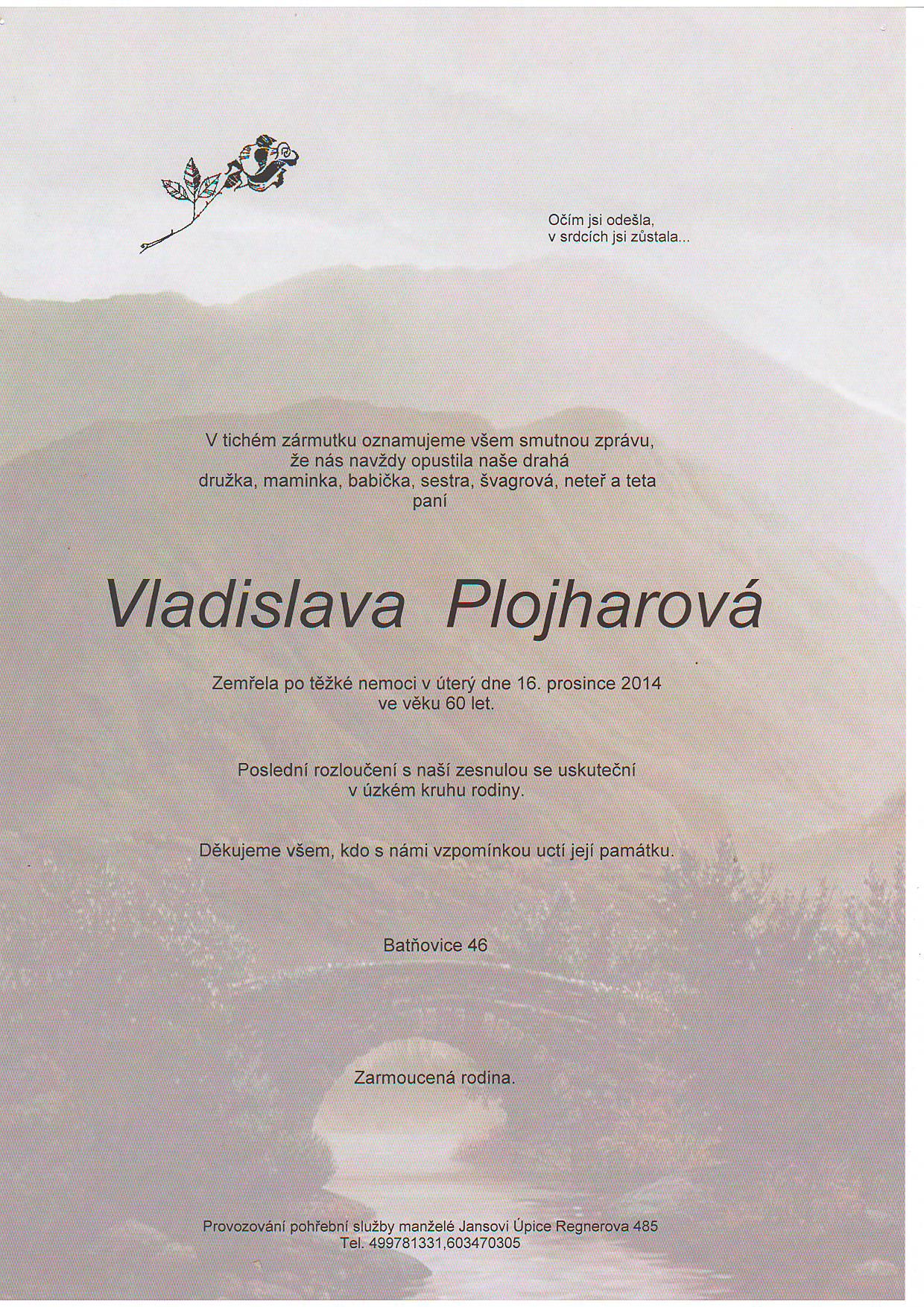 plojharova
