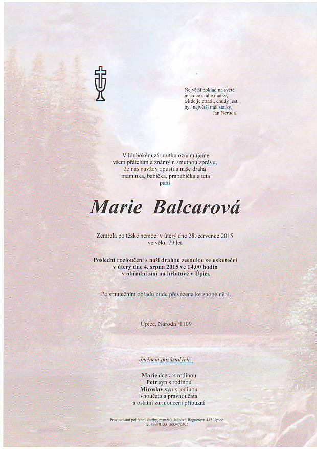 balcarova
