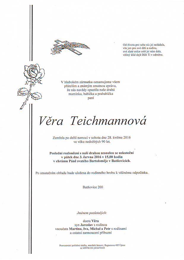 teichmanová