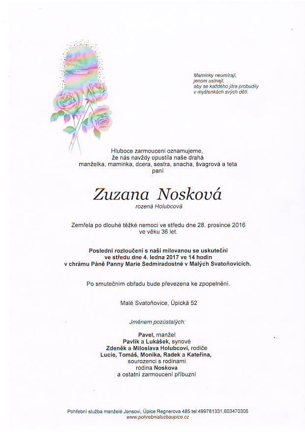 Zuzana Nosková