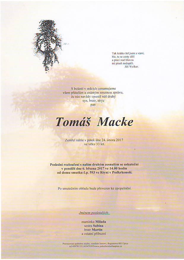 Tomáš Macke